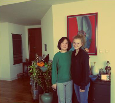 Lyndsey Hipgrave and ayi Chen, Beijing November 2012